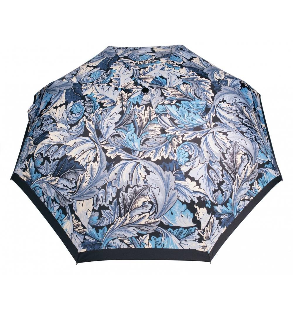liście - niebieskie