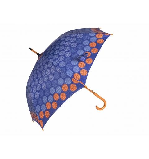 Parasol Drewno i Włókno - Big Dots