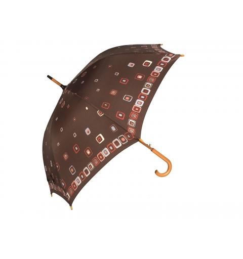 Parasol Drewno i Włókno - Kwadraciki
