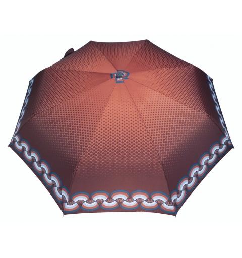 parasol fale brązowe