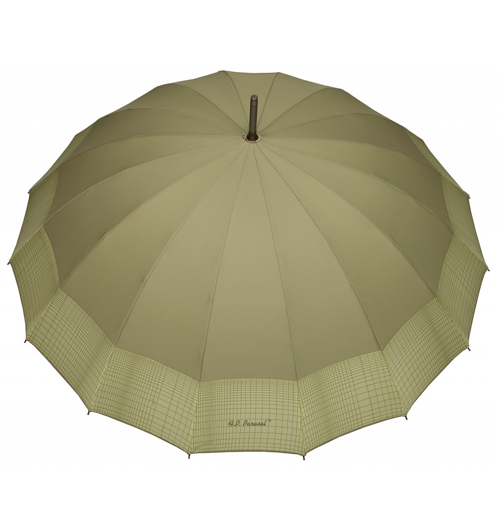 Sixteen Ribs strong Umbrella - olive