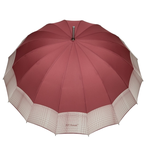 Sixteen Ribs strong Umbrella - Burgundy