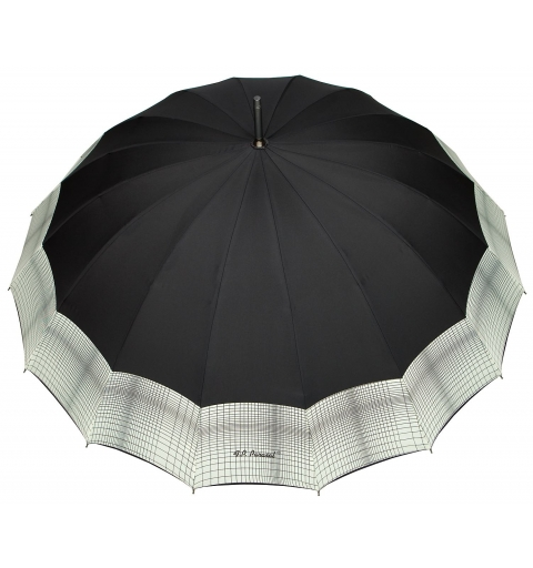 Sixteen Ribs strong Umbrella - black