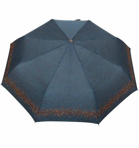 Carbon Steel 80 km/h O&C Umbrella - Picasso turquoise