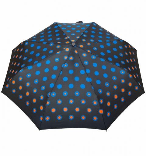 Carbon Steel II  80 km/h O&C Umbrella - Blue dots