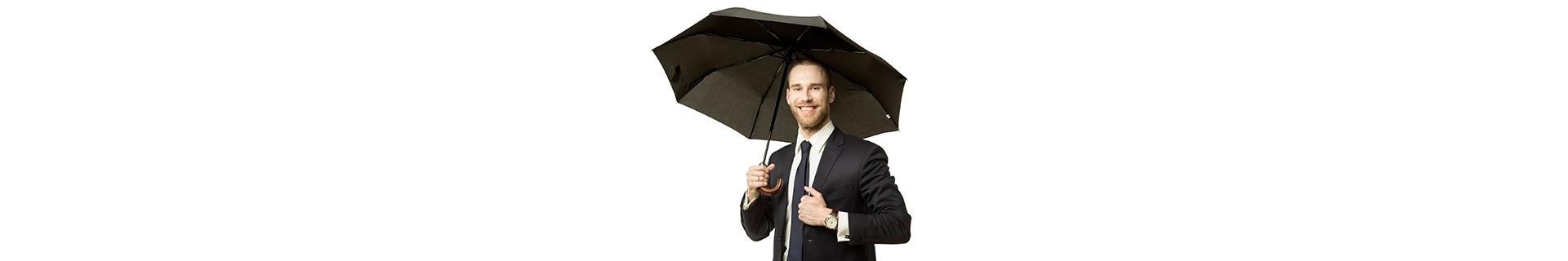 Krótkie parasole męskie. Małe parasolki do torby - Parasol.com.pl